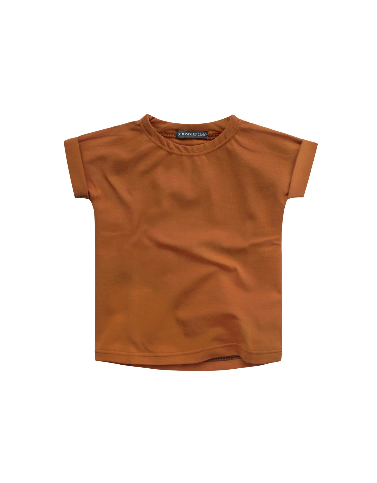 Your Wishes Cognac Jersey Boxy Tee