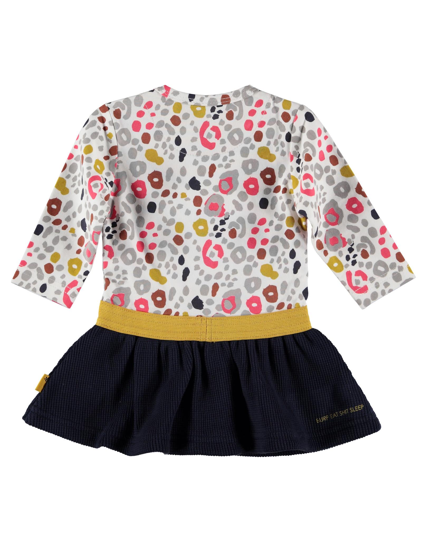 BESS Dress AOP Heart Dessin