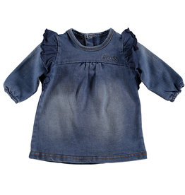 BESS Dress Jogdenim Stone Wash