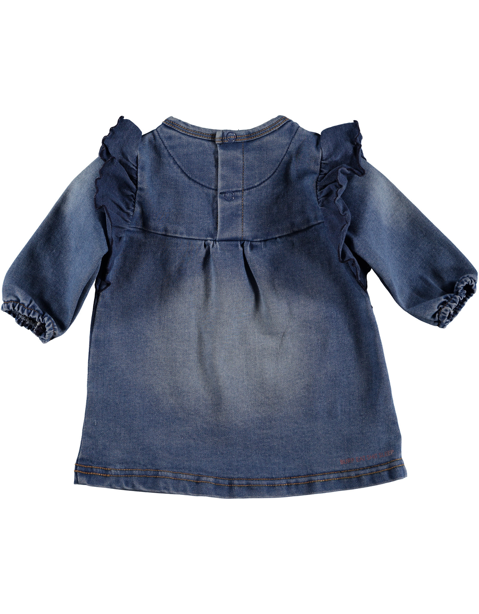BESS Dress Jogdenim Stone Wash