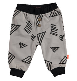 BESS Pants Graphic Grey