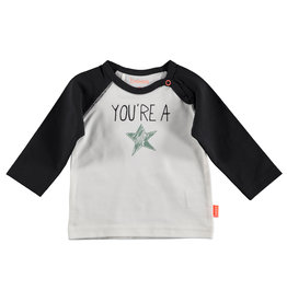 BESS Shirt l.sl. You're a Star White
