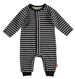 BESS Suit Striped Antracite