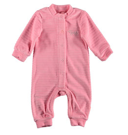 BESS Suit Velvet Striped Pink