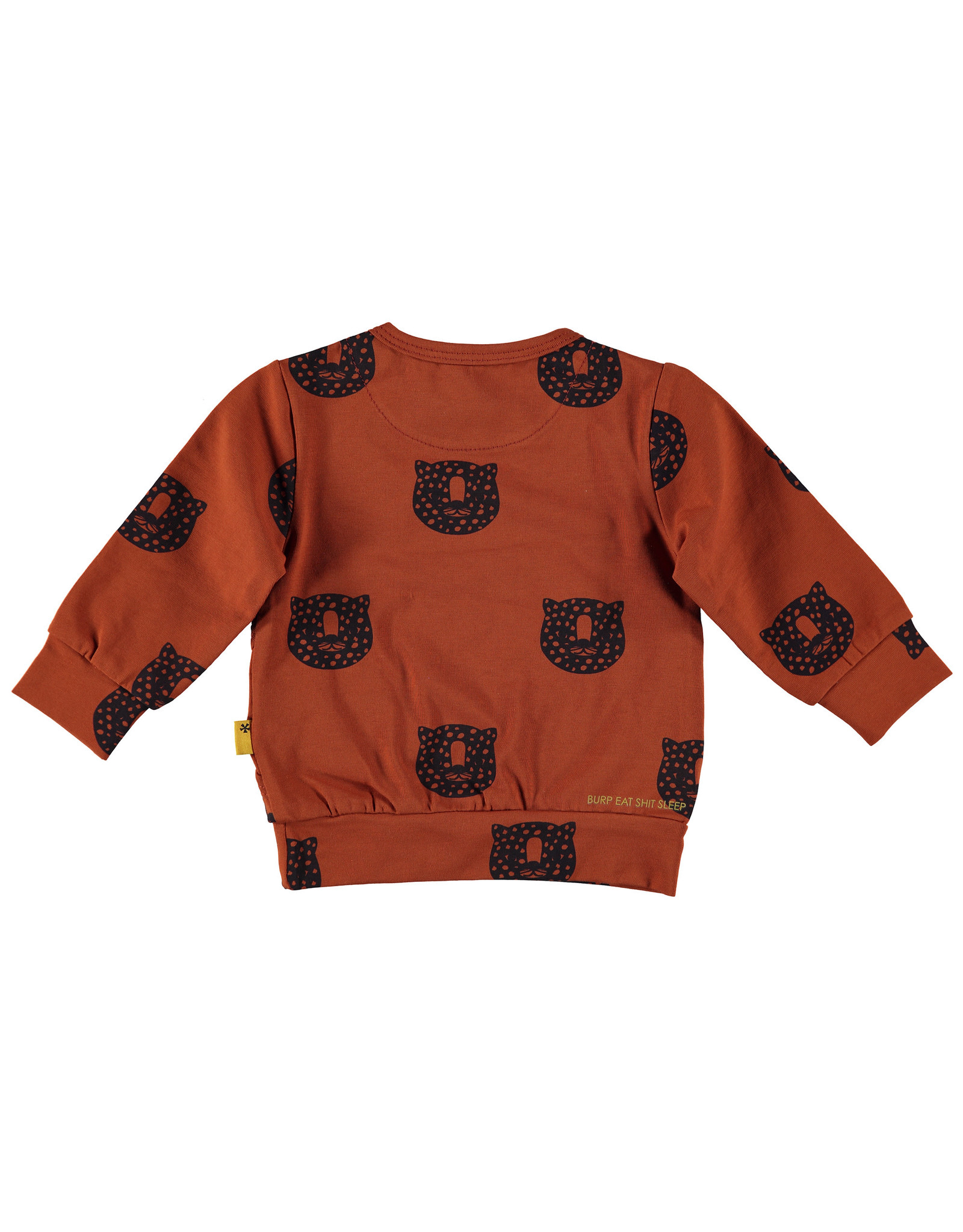 BESS Sweater AOP Tiger Rusty