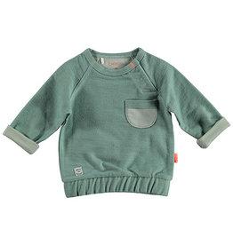 BESS Sweater Pocket Green