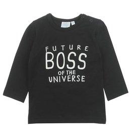 Feetje Longsleeve Boss - Spacelab Zwart