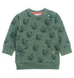 Feetje Sweater AOP - Bear Hugs Army