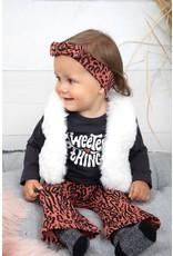 Feetje Haarband - Zebra Brique