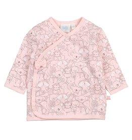 Feetje Overslagshirt - We Are Family Girls Roze