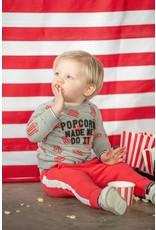 Feetje Broek - Popcorn Power Rood