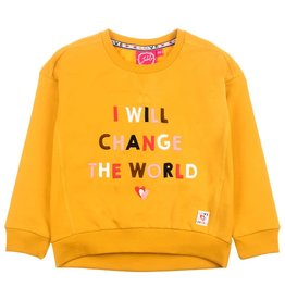 Jubel Sweater Change - Bittersweet Okergeel