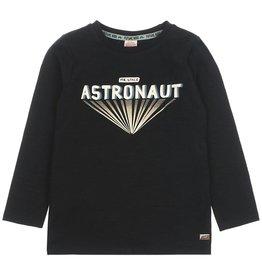 Sturdy Longsleeve Astronaut - Spacelab Zwart melange