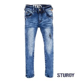 Sturdy Power stretched detroyed denim m.blue NOS