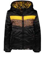 Moodstreet MT contr tiger stroke 099 Black