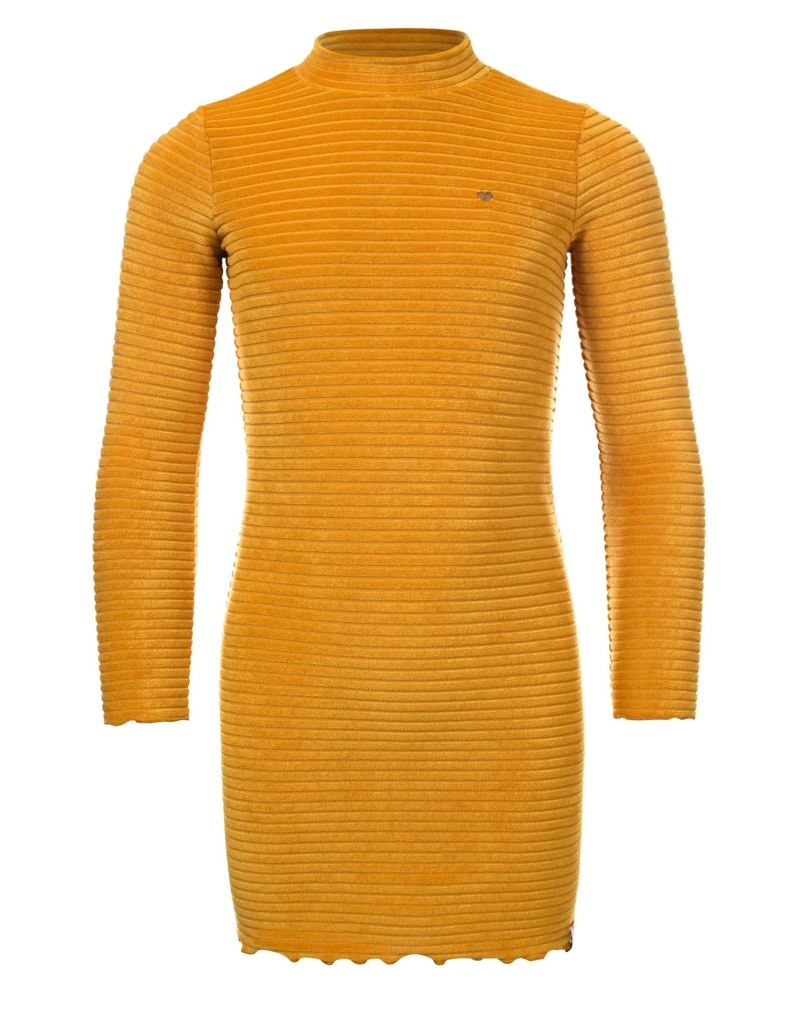 Looxs Little velvet dress l.sleeve Navy