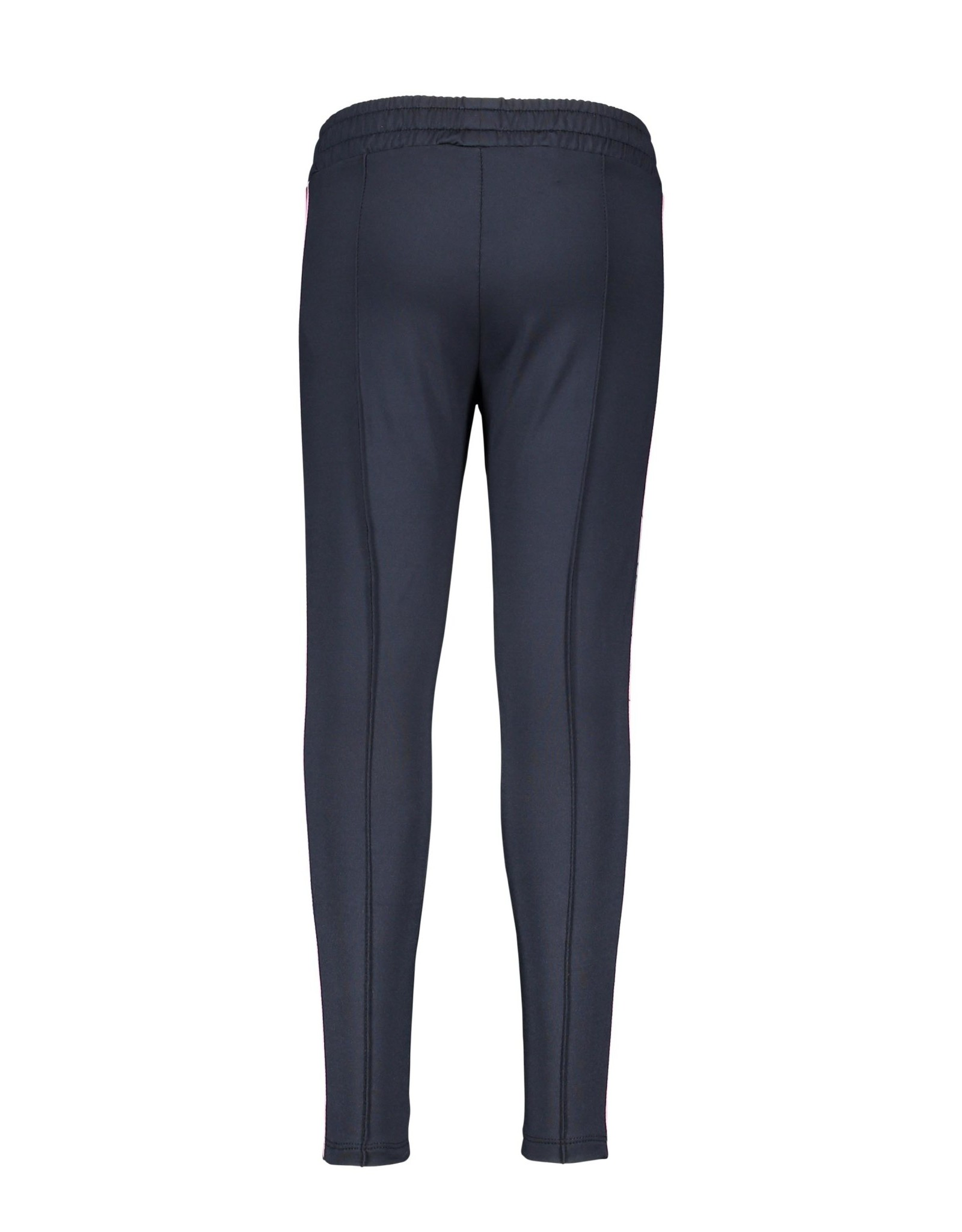 B-nosy Girls sweat pants with contrast aop stroke at sideseam 129 Oxford blue