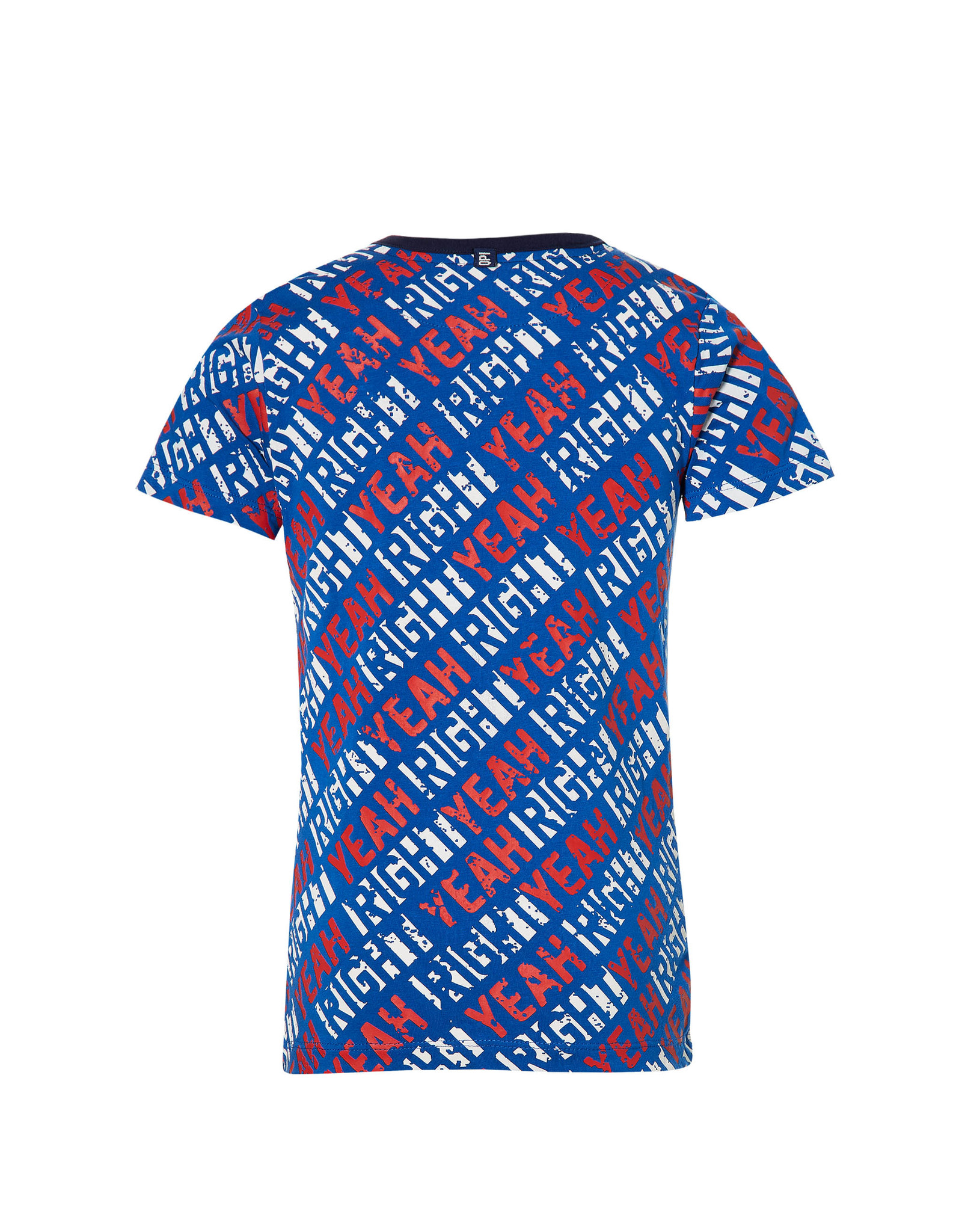Quapi DAAF W201 Olympian Blue Text Stripe
