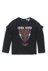 Koko Noko Longsleeve Black print