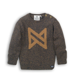Koko Noko Sweater Navy + Camel