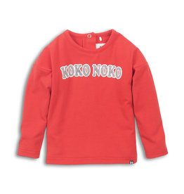 Koko Noko T-shirt ls Red