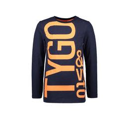 Tygo & vito T&v longsleeve LOGO 190 Navy