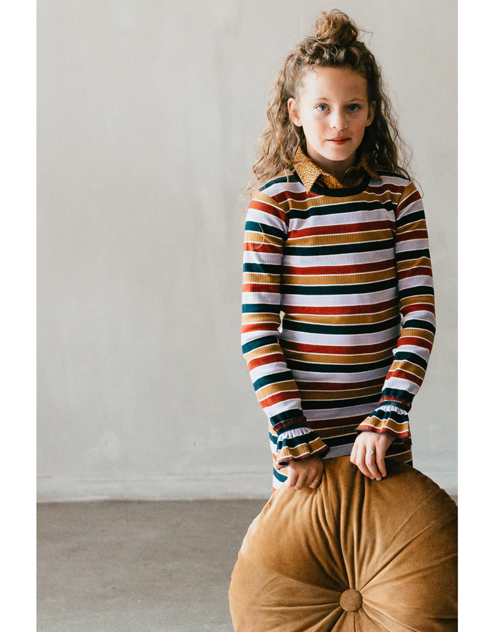 Topitm Britney Rib dress Multicolour
