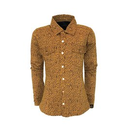 Topitm Lola blouse AOP Leopard brown