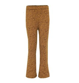 Topitm Annemoon pant AOP Leopard brown