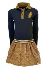 Topitm Aukje Dress AOP Leopard brown