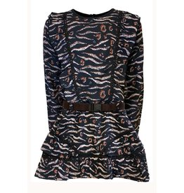 Topitm Bella Dress AOP Wave