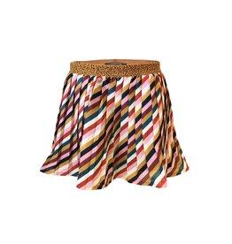 Topitm Arja Skirt plisee Poly Multicolor stripe