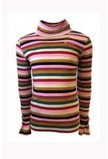 Topitm Aura Top col Rib Multicolor