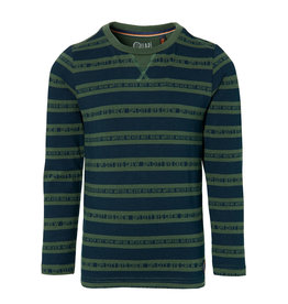 Quapi DAWID W202 Dark Green Text Stripe