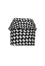B-nosy Girls puzzle jaquard skirt 051 Maxi starwhite
