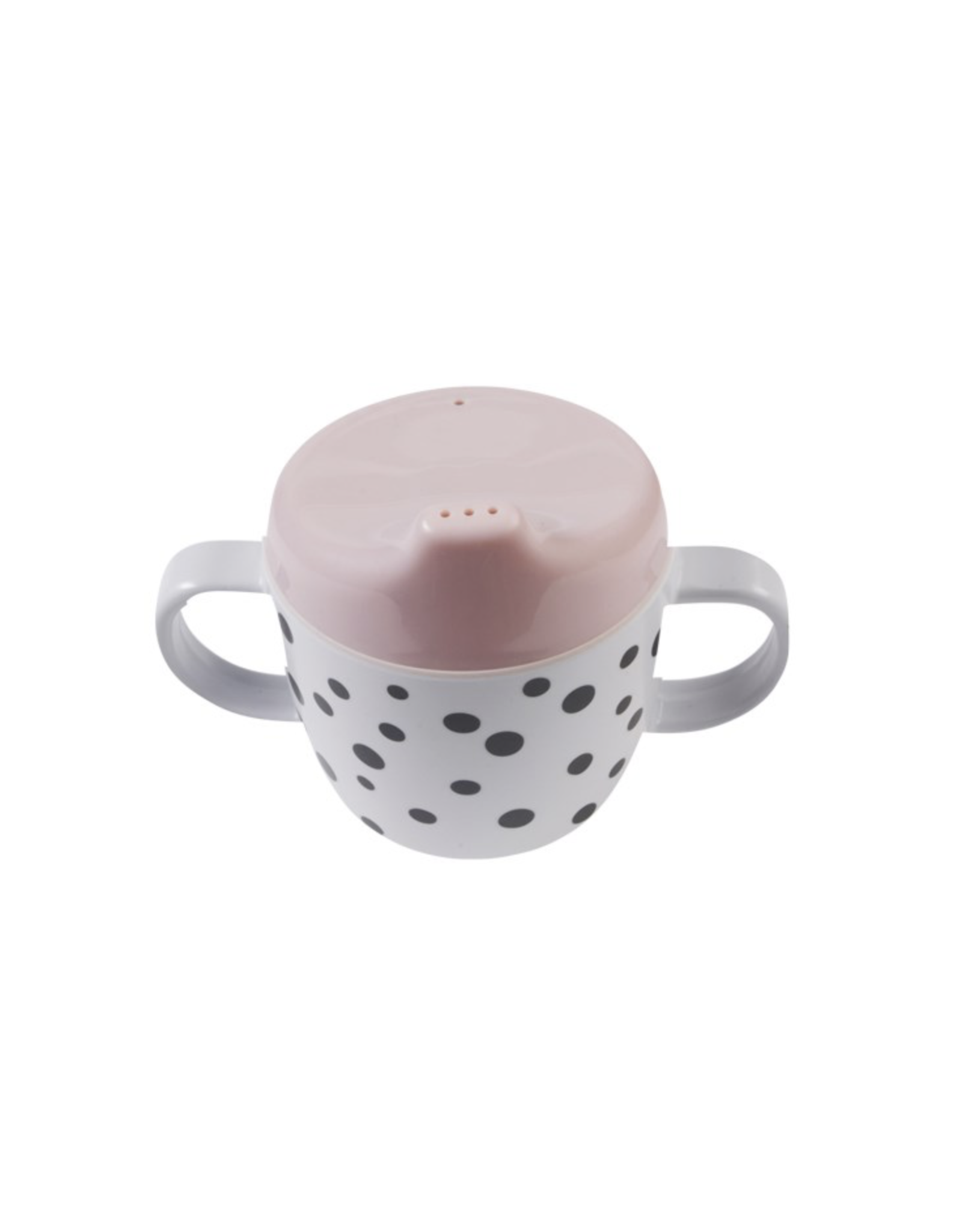 Done by Deer 2-handle  spout cup Happy dots Powder
