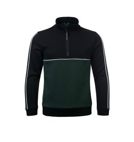 Common Heroes HUGO sporty zip sweater Pine