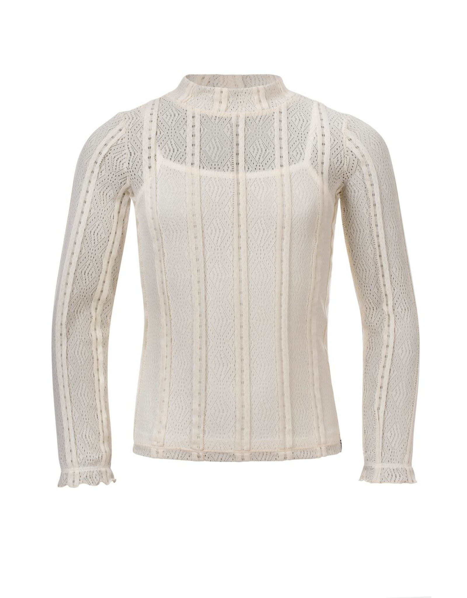 Looxs Girls lace top Chalk