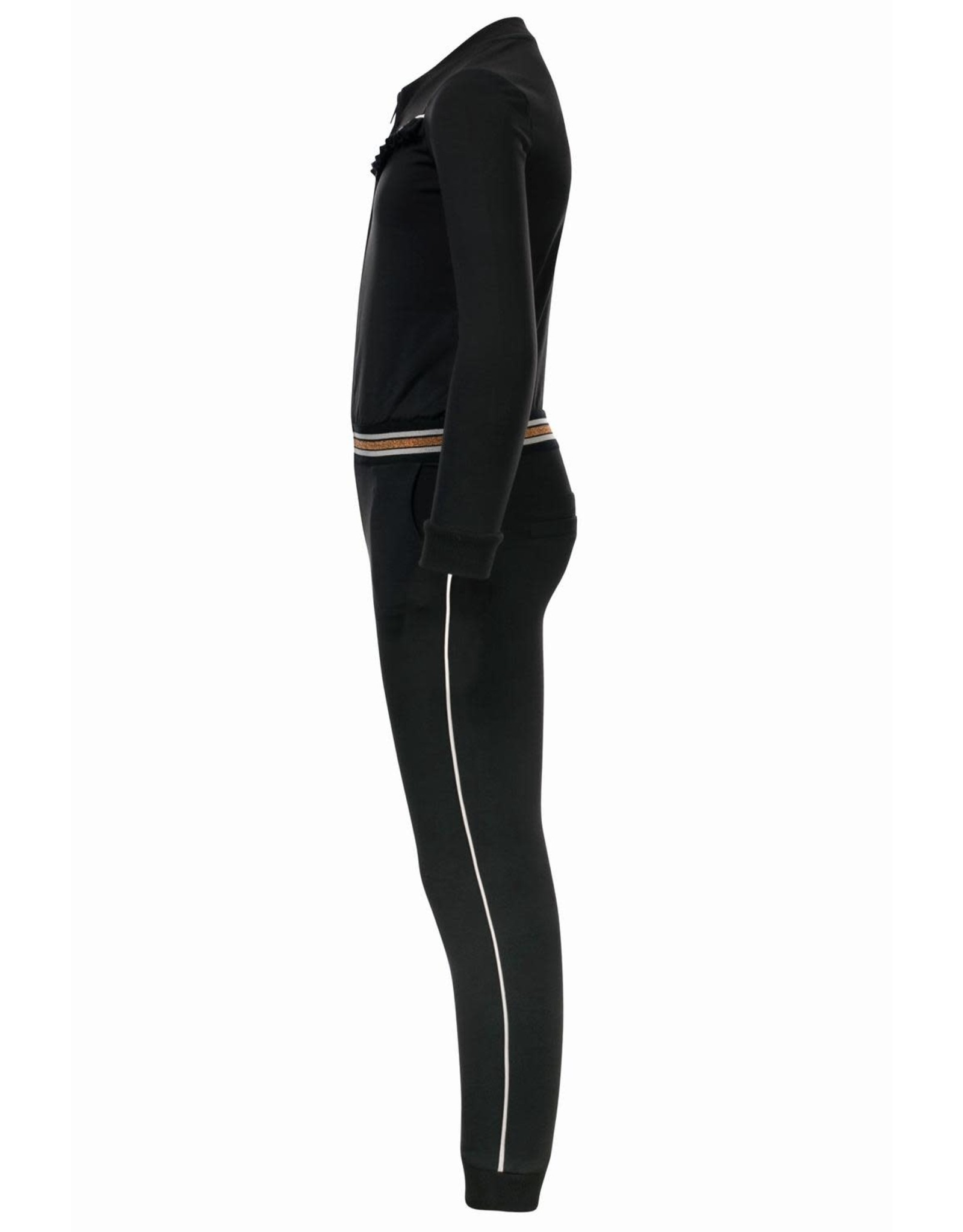 Looxs Girls sporty jumpsuit Black