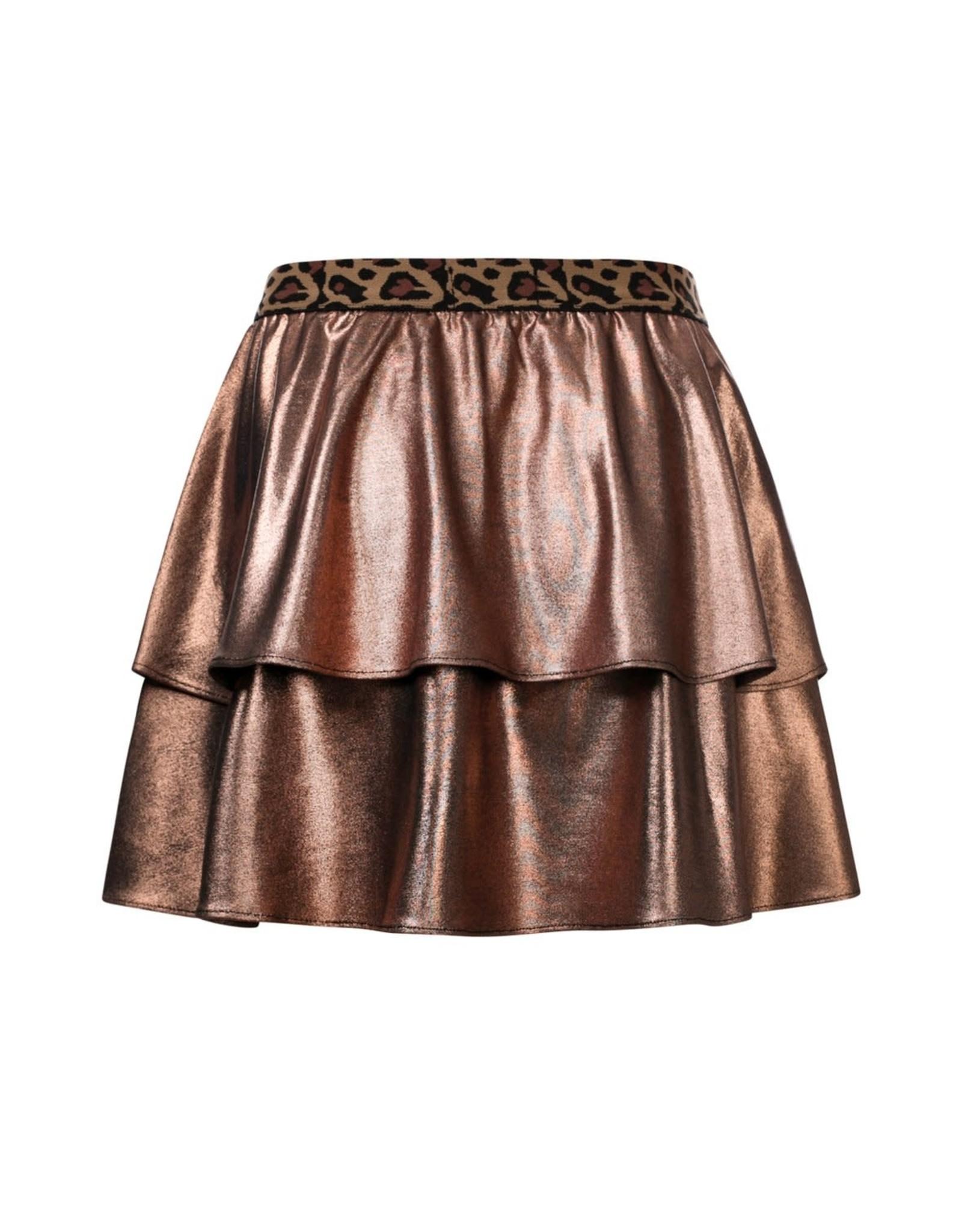Looxs Little metallic skirt Navy