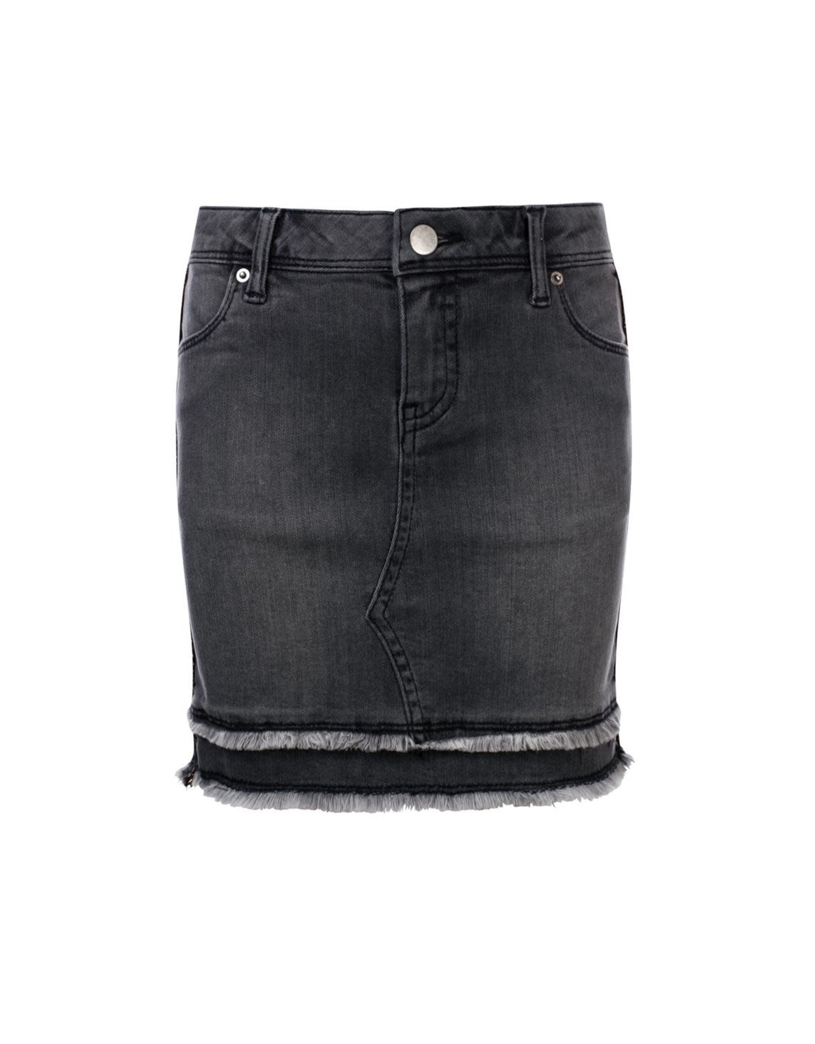 Looxs Girls denim skirt Graphite