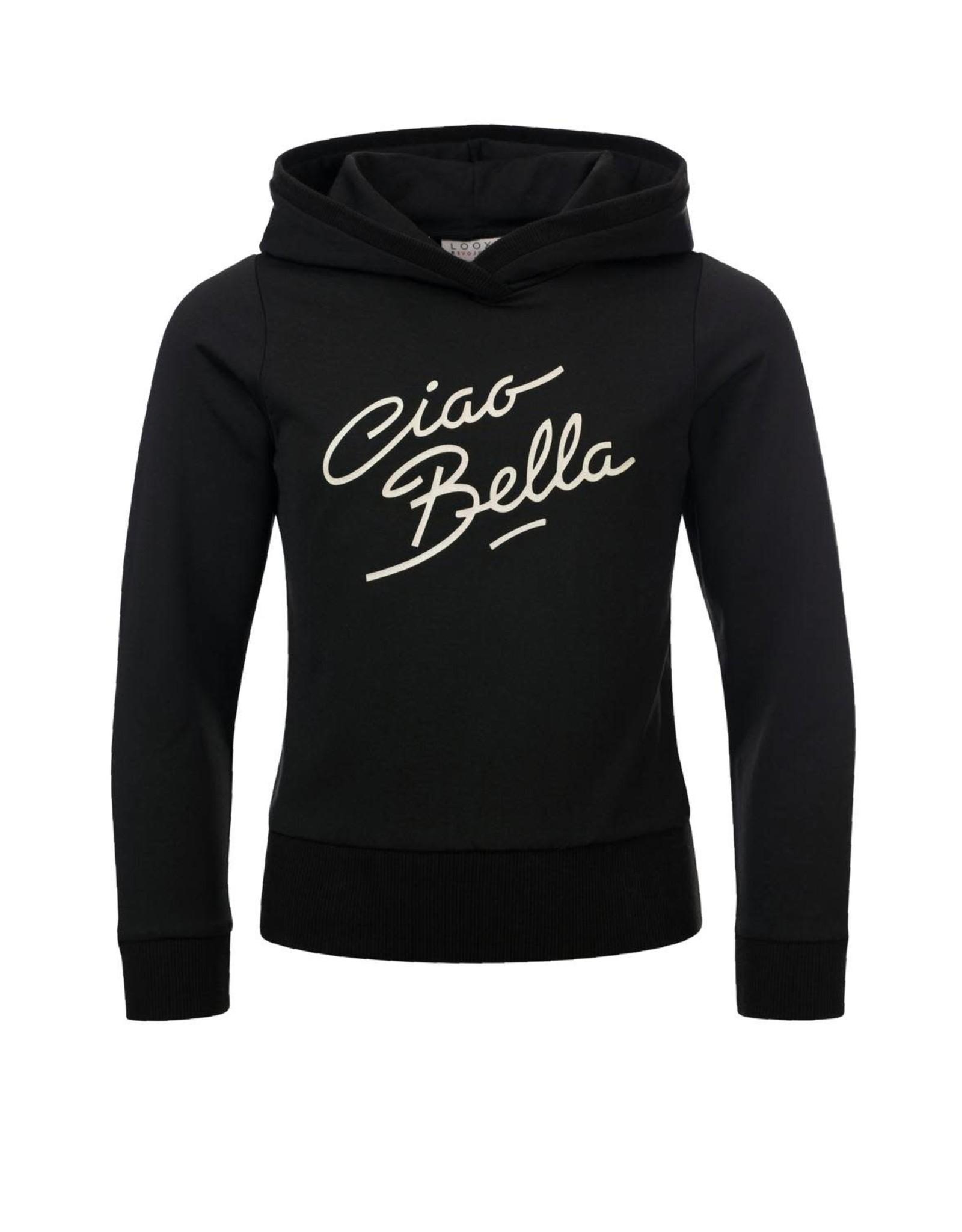 Looxs Girls hoody sweater Black