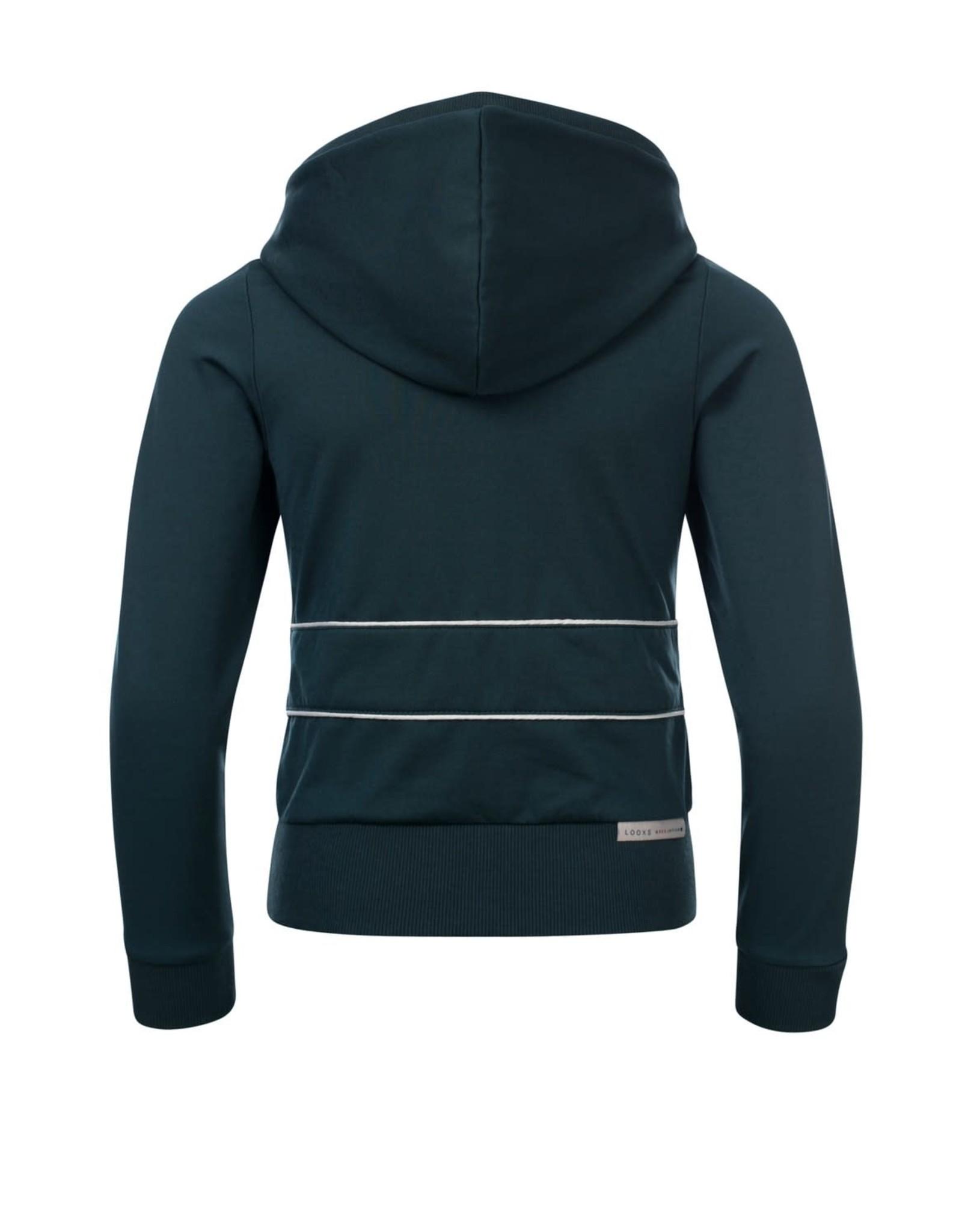 Looxs Girls hoody sweater Lagoon