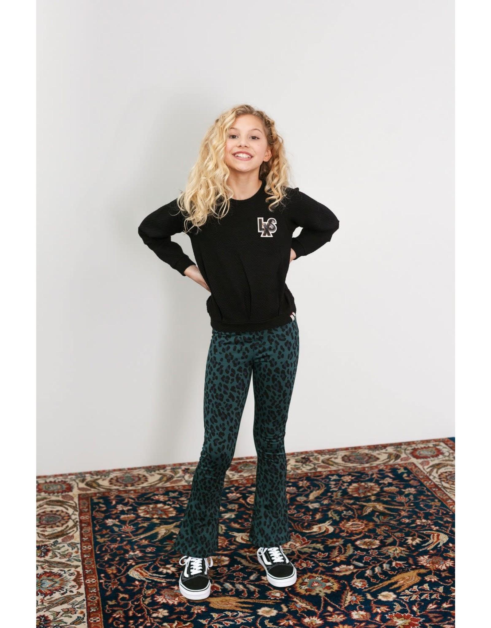 Looxs Girls sweater Black