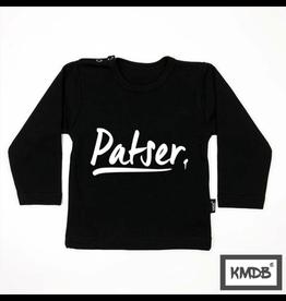 KMDB Longsleeve Patser Black/White