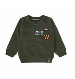 Your Wishes Varsity Patch | Sweater Desk green