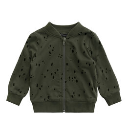 Your Wishes Splatters | Bomber Desk green