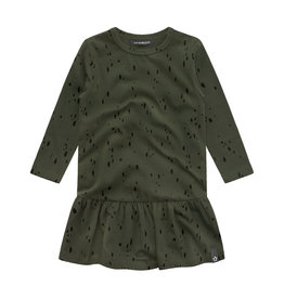 Your Wishes Splatters | Shift Dress Desk green