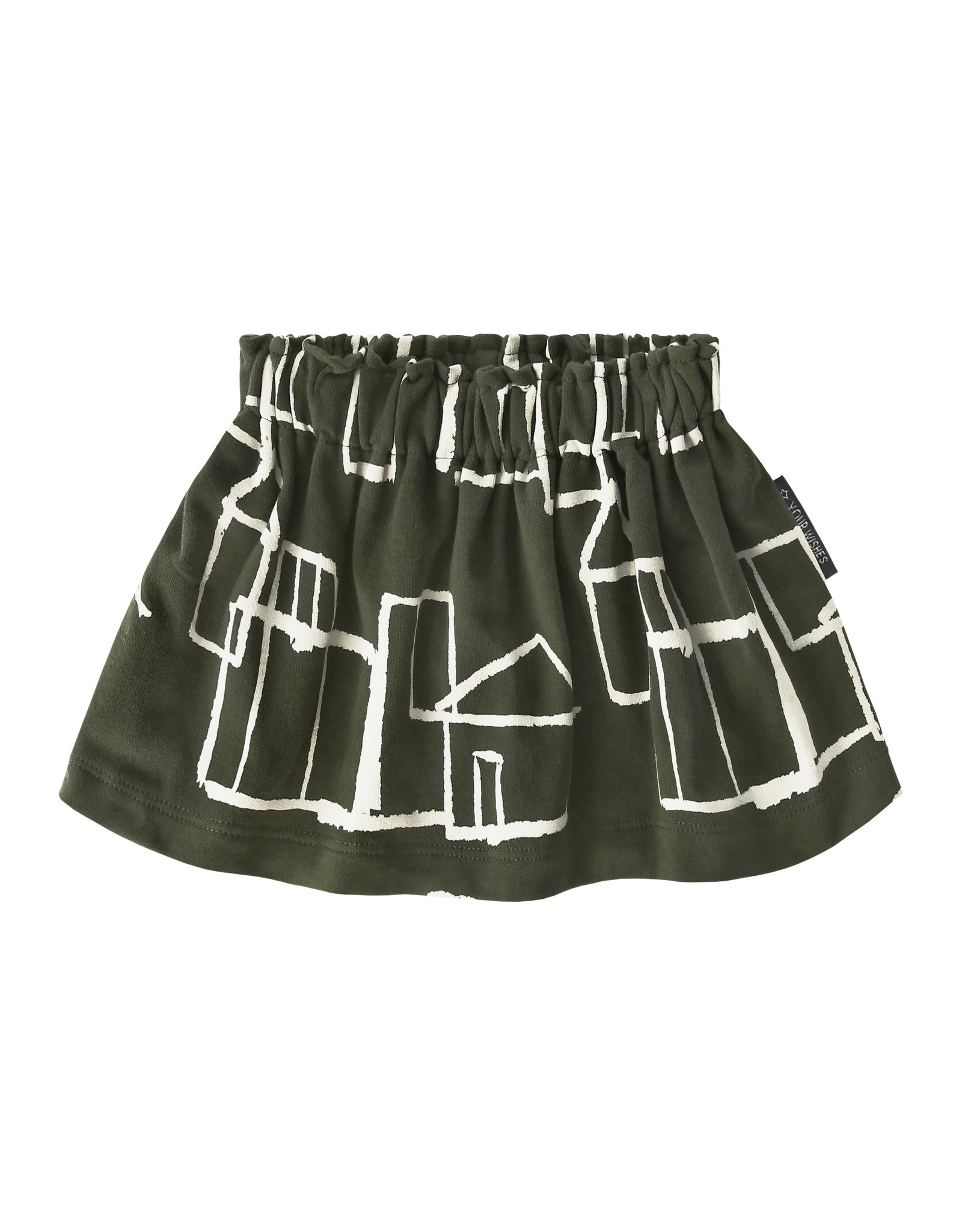 Your Wishes Crayon Town | Skirt Desk green