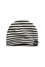 Your Wishes Beige - Stripes | Newborn Hat Chalk